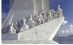Image: Portugal boat statue