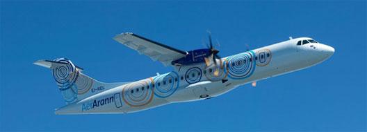 Image: Aer Arann plane