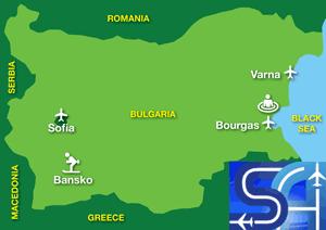 Map: Bulgaria