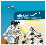 Logo: Click Air new destinations