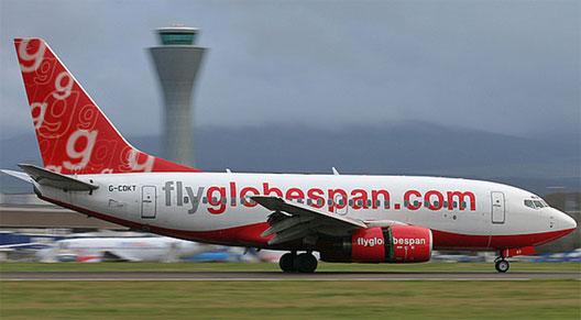 Image: FlyGlobespan plane