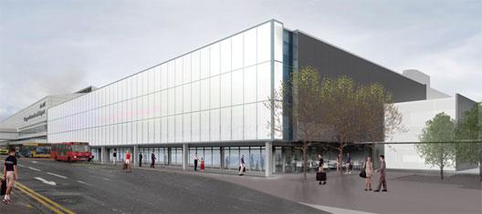 Image: Glasgow's new £30 million 'skyhub' terminal extension