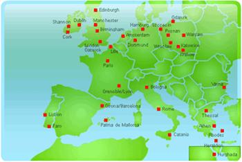 Map: Europe