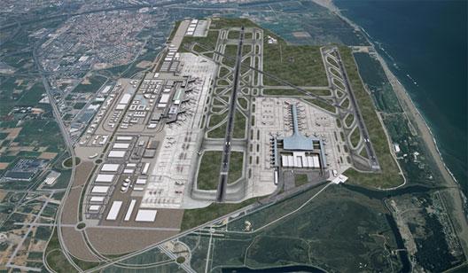 Image: Aena's Barcelona expansion aerial shot