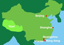 Map: China