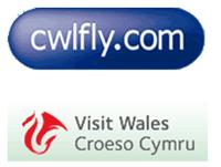 Logo: cwlfly.com, Visit Wales