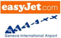 logo: easyJet & Geneva International Airport