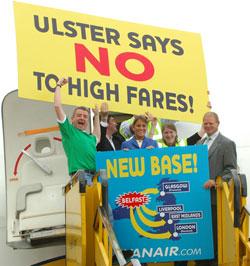 Image: Ryanair belfast base