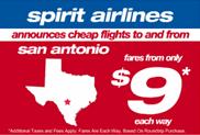Image: Spirit Airlines Ad