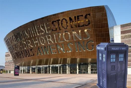 Image: The Wales Millennium Centre