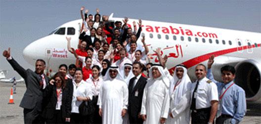 Image: Air Arabia launch of Delhi Air Service.