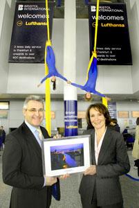 Image: Lufthansa launch new service to Bristol International
