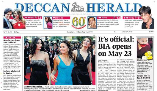 Image: Deccan Herald Headline