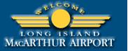 Logo: Long Island MacArthur Airport