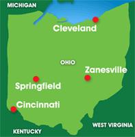 Map: Ohio