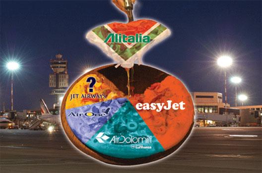 Image: Alitalia cuts capacity Milan Malpensa