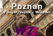 Image: Wizzair Poznan Route
