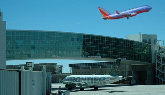 Image: Southwest, Denver Airport Bridge