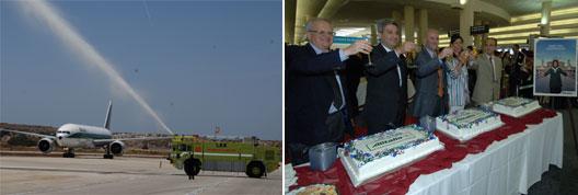 Image: Alitalia celebrate new service from Rome Fiumicino – to Los Angeles