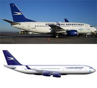 Image: Aerolineas Argentinas planes