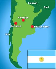 Map: Argentina
