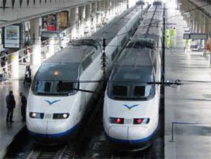 image: high speed rail