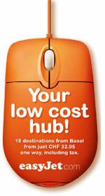 Image: easyJet low cost hub