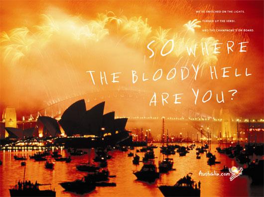 Image: Australian Global Ad Campaign