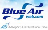 Logo: Blue Air & Sibiu Airport