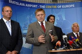 Image: Slovak prime minister, Robert Fico