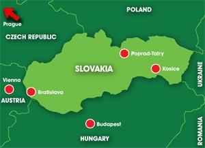 Map: Slovakia