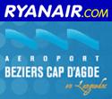 Logo: Ryanair & Beziers Aeroport