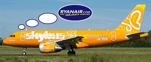 Image: Skybus plane