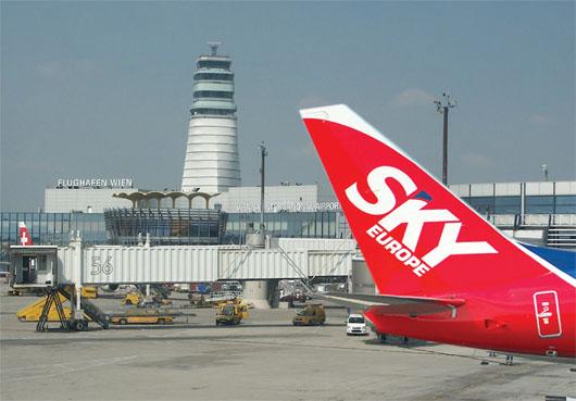 Image: SkyEurope airline