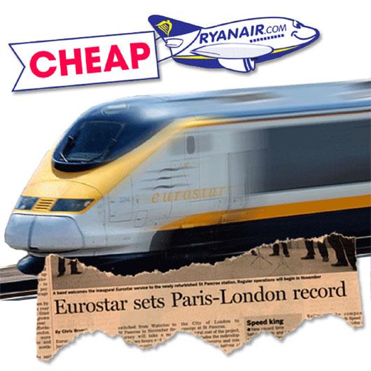 Image: Eurostar sets Paris to London record