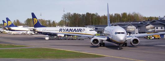 Image: Ryanair fleet