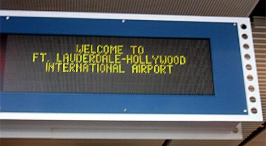 Image: FT Lauderdale International Airport