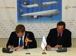 Image: Lufthansa & Air Astana sign a Memorandum of Understanding in Astana last summer