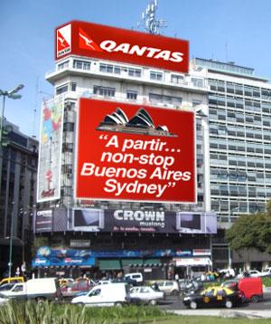 Image: Qantas Billboard