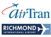 Logo: AirTran and Richmond International Airport