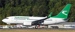 Image: Turkmenistan Airline plane