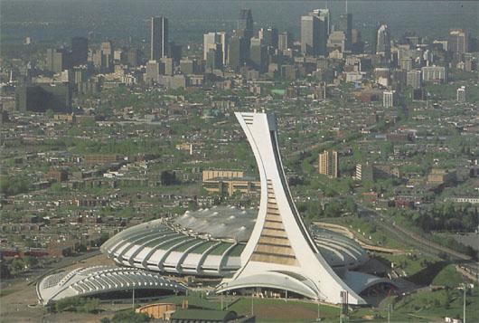 Image: Montreal's olympic stadium