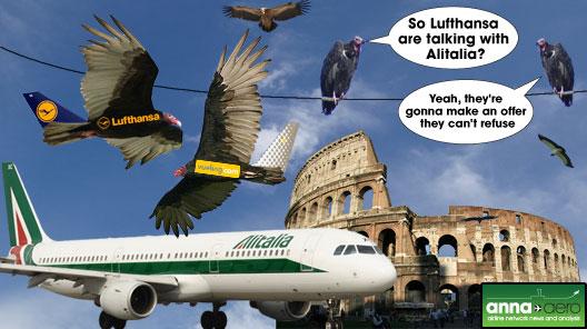 Image: The Alitalia Vultures