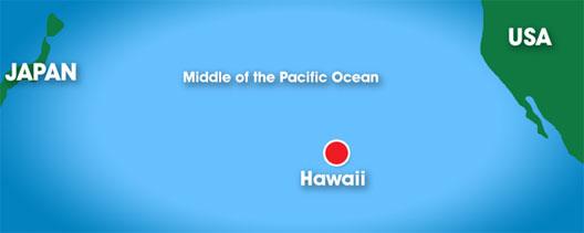 Map: Hawaii