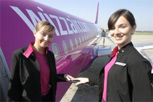 Image: wizzair air hostessses