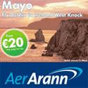 Image: Aer Arann Dubline route ad