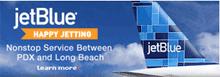 Image: jetBlue route ad