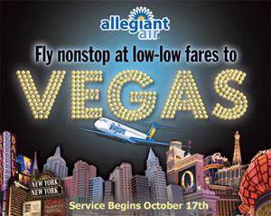 Image: Vegas - Allegiant Air
