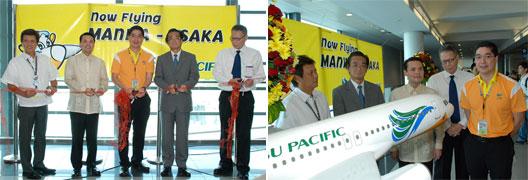Image: Cebu Manila-Osaka route launch