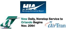 Logo: Harrisburg International Airport, AirTran